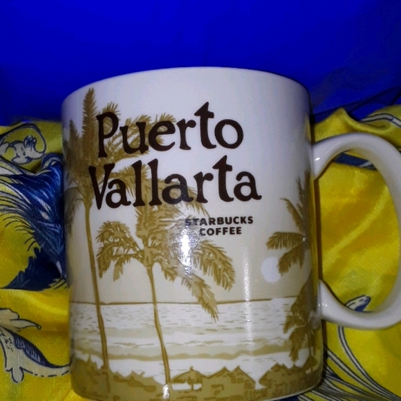 STARBUCKS Puerto Vallarta Icon Collector Mug